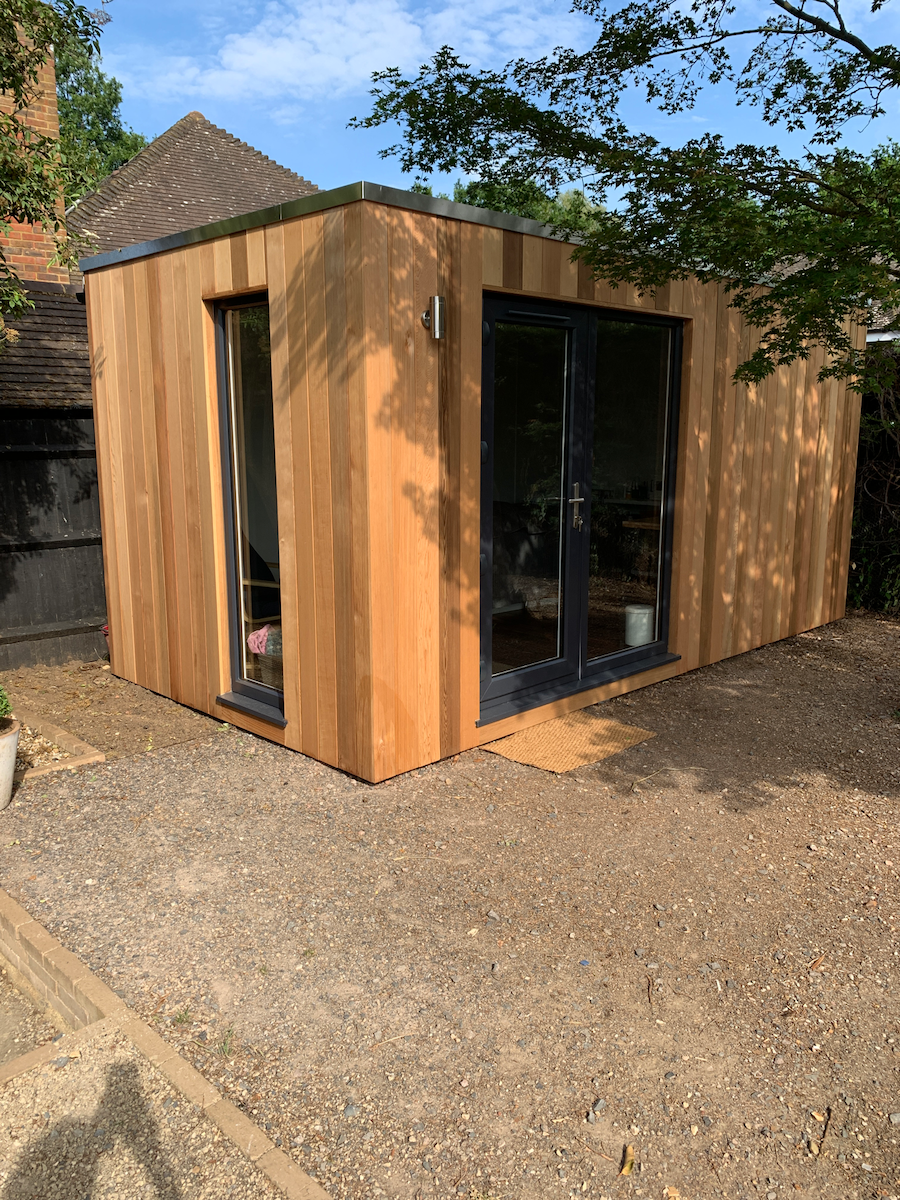 4.8m x 2.4m Contemporary Cubed Beauty Room 1