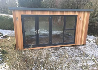 4.8m x 3m Overhang with opening window